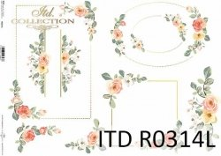 Papier ryżowy ITD R0314L