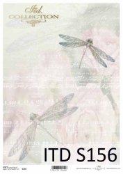 Papier decoupage SOFT ITD S0156