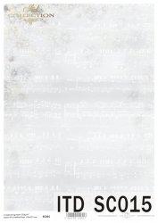 Papier scrapbooking SC0015