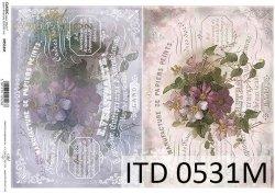 Papier decoupage ITD D0531M