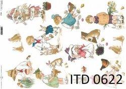 Papier decoupage ITD D0622