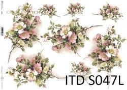 Papier decoupage SOFT ITD S0047L