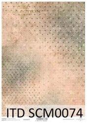 Papier scrapbooking SCM0074