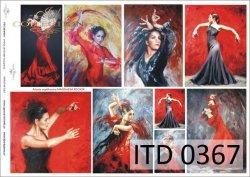 Papier decoupage ITD D0367
