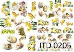 Papier decoupage ITD D0205