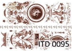 Papier decoupage ITD D0095