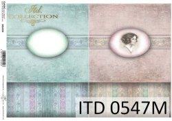Papier decoupage ITD D0547M