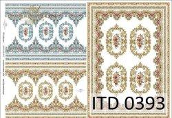 Papier decoupage ITD D0393
