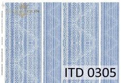 Papier decoupage ITD D0305