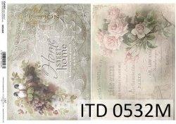Papier decoupage ITD D0532M