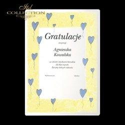 Dyplomy szkolne * gratulacje * serduszka 2