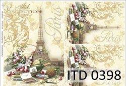 Papier decoupage ITD D0398M