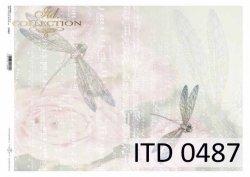 Papier decoupage ITD D0487