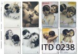 Papier decoupage ITD D0238