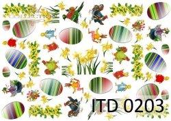 Papier decoupage ITD D0203