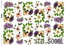 Papier decoupage SOFT ITD S0006L