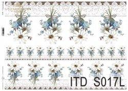 Papier decoupage SOFT ITD S0017L