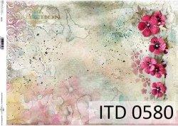 Papier decoupage ITD D0580
