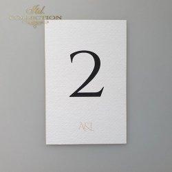 Numery stołów 2003