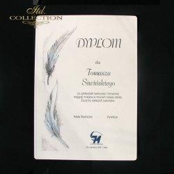 Dyplom Uznania Pióro 1