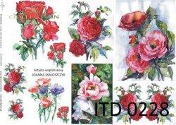 Papier decoupage ITD D0228