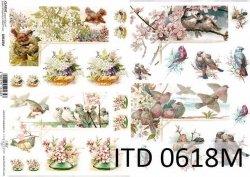 Papier decoupage ITD D0618M
