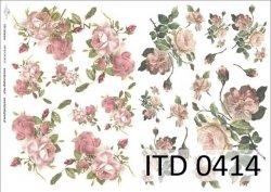 Papier decoupage ITD D0414M