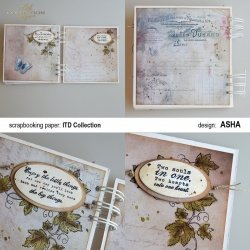 Album Słodkie Marzenia - praca Asha