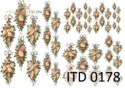 Papier decoupage ITD D0178