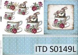 Papier decoupage SOFT ITD S0149L