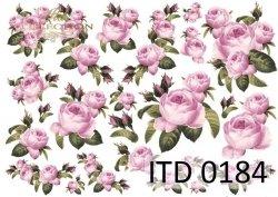 Papier decoupage ITD D0184