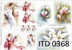 Papier decoupage ITD D0368