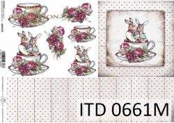 Papier decoupage ITD D0661M