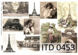 Papier decoupage ITD D0453