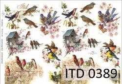 Papier decoupage ITD D0389