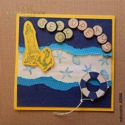 Kartka Morze