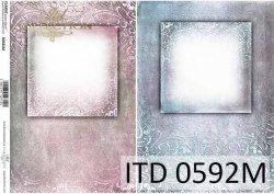 Papier decoupage ITD D0592M