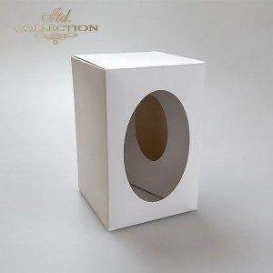 Pudełko na jajko 12 cm do decoupage