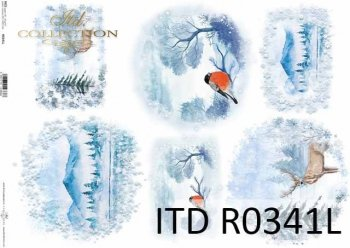 рисовая бумага для декупажа R0341L