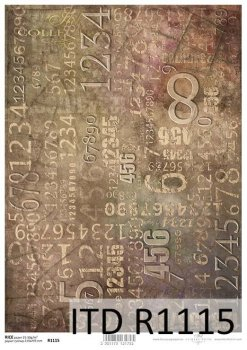 рисовая бумага для декупажа R1115