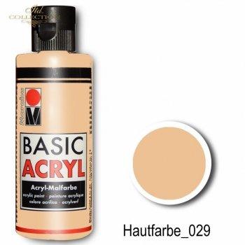 Farba akrylowa Basic Acryl 80 ml Hautfarbe 029