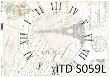 бумага для декупажа SOFT S0059L