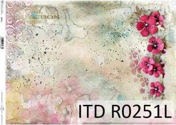 рисовая бумага для декупажа R0251L