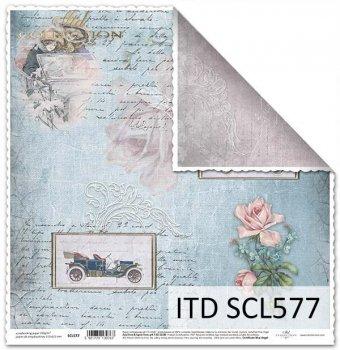 Бумага для скрапбукинга SCL577