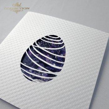 Пасхальная открытка с конвертом KW282