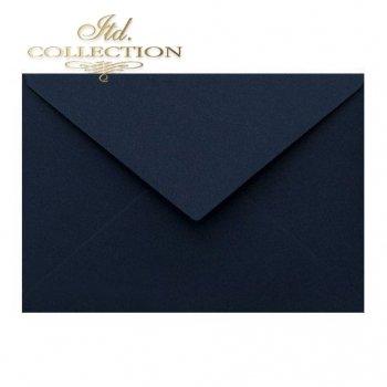 Конверт KP04.18 114x162 темно-синий