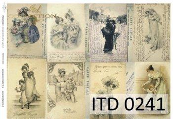 Papier decoupage ITD D0241M