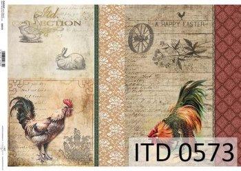 бумага для декупажа классическая D0573