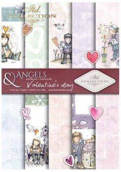 Скрапбукинг бумаги SCRAP-033 ''День святого Валентина''