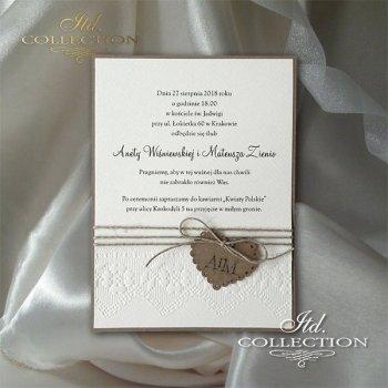 Zaproszenia ślubne / zaproszenie 2028